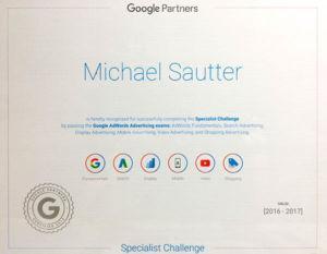 Google Specialist Challange - Alabama Website Design in Birmingham Alabama
