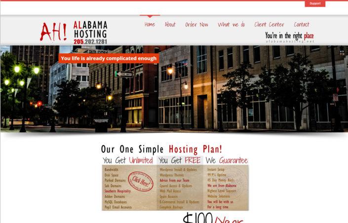 Alabama Hosting - Alabama Website Design in Birmingham Alabama